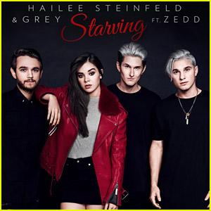 Hailee Steinfeld Drops 'Starving' feat. Grey & Zedd - Listen Now!