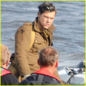 Harry Styles Gets to Work on New Movie 'Dunkirk'