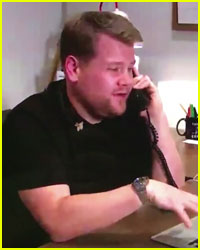 Watch James Corden Spoof Taylor Swift & Kanye West's Phone Call!