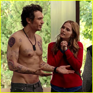 Zoey Deutch Falls in Love with James Franco in 'Why Him?' Trailer