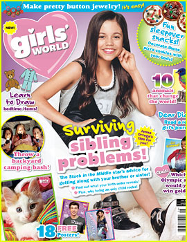 Jane the Virgin's Jenna Ortega Gives Advice on Dealing with Siblings!
