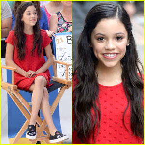 Jenna Ortega Promotes 'Stuck in the Middle' on 'GMA'