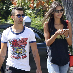 Joe Jonas Has an Afternoon Out With Rumored Girlfriend Juliana Herz