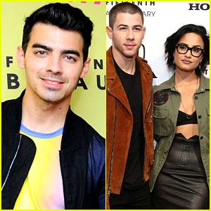 Joe Jonas Talks Nick Jonas, Demi Lovato & Their Close Bond