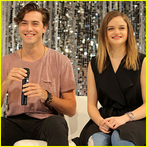 Joey King & Ryan McCartan Participate in Celebrity Experience Event