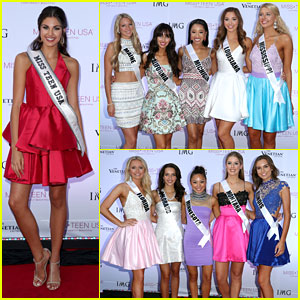 Katherine Haik Hosts Miss Teen USA 2016 Contestants For Pool Party Ahead of Pageant This Weekend