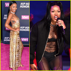 Keke Palmer Takes the Stage With Dreezy at VH1 Hip Hop Honors