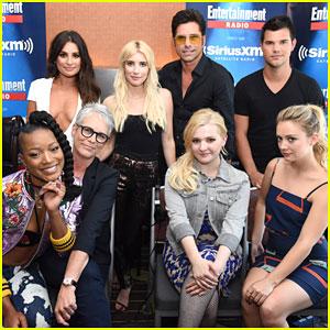 Keke Palmer, Billie Lourd & Taylor Lautner Take 'Scream Queens' To Comic-Con 2016