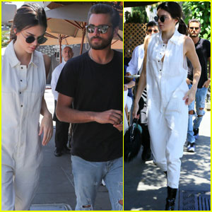 Kendall Jenner & Scott Disick Cruise to Beverly Hills For Lunch
