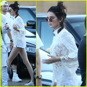 Kendall Jenner Hits Up July Fourth Party With Rumored Beau Jordan Clarkson
