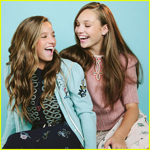 Maddie Ziegler & Sis Mackenzie Team Up With Clean & Clear for Back To School Beauty