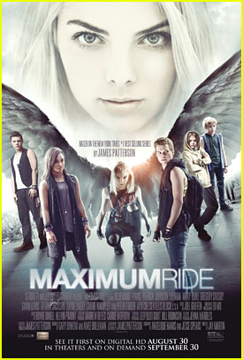 James Patterson's 'Maximum Ride' Movie Adaption Gets Poster & Trailer - Watch Now!