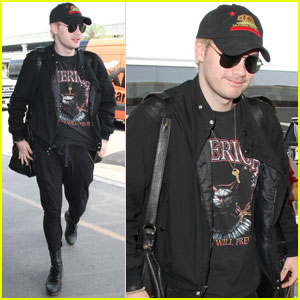 Michael Clifford Jets Out of LA to Start 'Sounds Live Feels Live' Tour