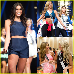 Miss Teen USA Katherine Haik Rehearses For 2016 Pageant in Vegas