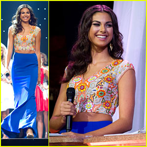 Katherine Haik Hosts Miss Teen USA 2016 Preliminaries in Vegas