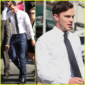 Nicholas Hoult Explains What It's Like to Fall in Love for the First Time