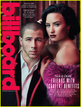 Demi Lovato & Nick Jonas Cover 'Billboard' Magazine Together!