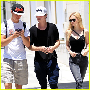 Nicola Peltz Hangs with Ansel Elgort After Getting First Tattoo!