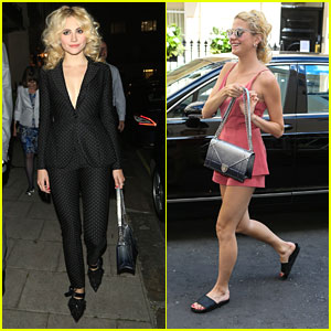 Pixie Lott Attends Master Class Party After 'Tiffany's' Performances in London