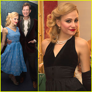Pixie Lott Shows Off Holly Golightly's Looks Backstage at 'Breakfast at Tiffany's'