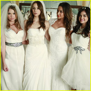 'Pretty Little Liars' Stars Dream Up Perfect Weddings Ahead of Proposal Storyline