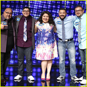 Rico & Raini Rodriguez Play Celebrity Family Feud with Brothers & Dad