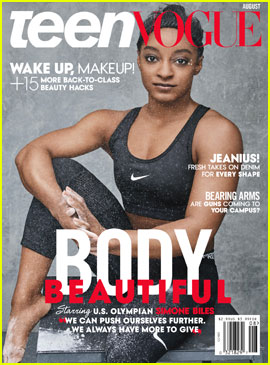 Simone Biles & Gabby Douglas Cover 'Teen Vogue' Body Beautiful Issue
