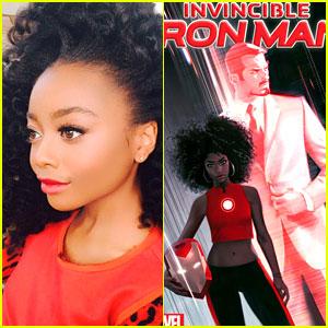 Skai Jackson Inspired New Black Iron Man Riri Williams, Co-Creator Says