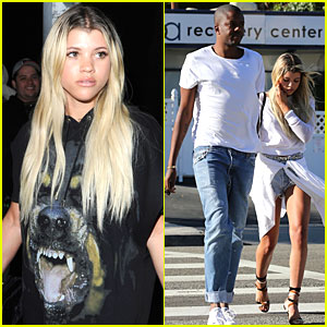 Sofia Richie Spends July 4th With Vas J Morgan