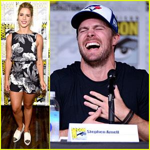 Stephen Amell & Emily Bett Rickards Reveal 'Arrow' Season 5 First Look