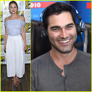 Tyler Hoechlin Joins Melissa Beniost & 'Supergirl' Cast at Comic-Con