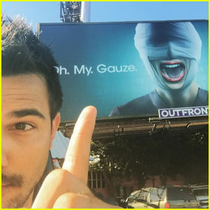 Taylor Lautner is Psyched For the Second Season of 'Scream Queens'
