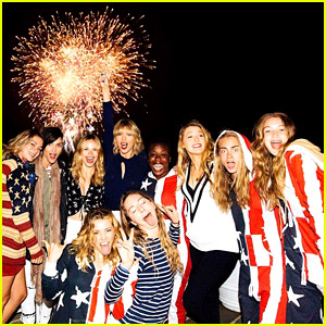 Taylor Swift Shares Official Photo from July 4th Party!