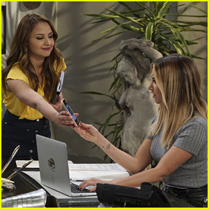Sofia Starts Work For Logan Rawlings on Tonight's 'Young & Hungry'