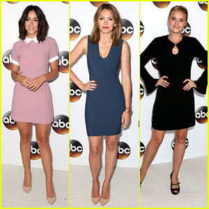 Chloe Bennett, Aimee Teegarden & AJ Michalka Hit ABC's Summer TCA Tour Party
