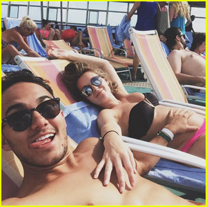 Alexa PenaVega Shows Off Bare Baby Bump in Her Bikini!