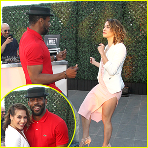 Allison Holker & Stephen 'tWitch' Boss Dance It Up at 4Moms Event in LA