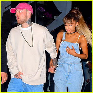 Ariana Grande Leave VMAs Party Hand in Hand with Mac Miller!