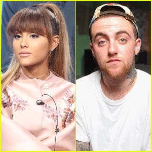 Ariana Grande Kisses Mac Miller in New Pics!