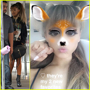 Ariana Grande Shows Off New Tattoos Before MTV VMAs This Weekend