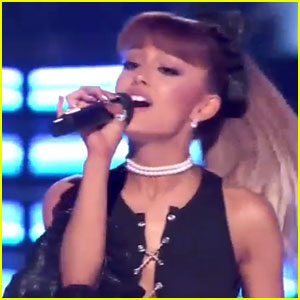 Ariana Grande Pays Tribute to Whitney Houston on 'Greatest Hits' - Watch Now!