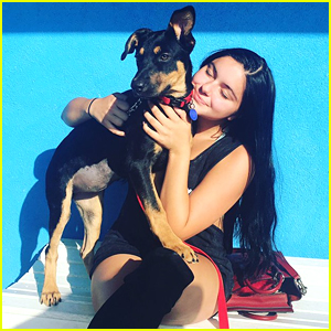 Ariel Winter Adopts New Puppy in Los Angeles