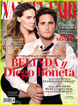 Belinda & Diego Boneta Cover 'Vanity Fair Mexico' September 2016