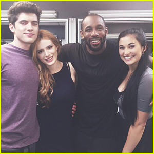 Bella Thorne & Carter Jenkins Get a Dance Lesson From Stephen 'tWitch' Boss for 'Famous in Love'