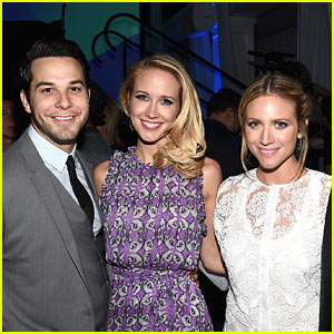 Brittany Snow Hosts Combined Bachelor-Bachelorette Party for BFFs Anna Camp & Skylar Astin!