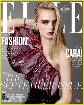 Cara Delevingne Tells 'Elle' That Emotions Are The Most Important Thing