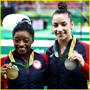 Simone Biles & Aly Raisman's All Around Wins Have Stars Celebrating on Twitter!