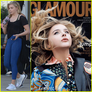 Chloe Moretz Covers 'Glamour UK' September 2016!
