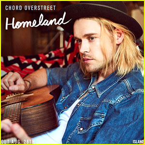 Chord Overstreet's First Single 'Homeland' Will Be Released on August 26!