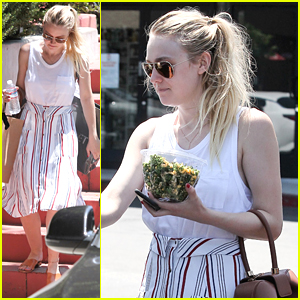Dakota Fanning Proves She Doesn't Eat Fruit In Latest Instagram
